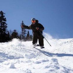 skiing bumps mogals