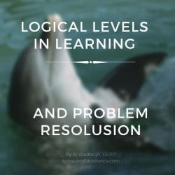 How a shift in logical levels is the process of learning