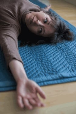 """Alexander Yanai Lesson 305, """"The line of Effort in the Back in Lifting on Stomach"""""""