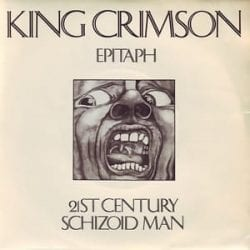 Cover artwork of King Crimson's 21st Century Schizoid Man