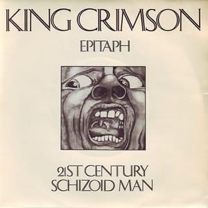 Cover artwork of King Crimson's 21st Century Schizoid Man